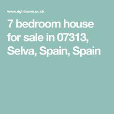 7 bedroom house for sale in 07313, Selva, Spain, Spain