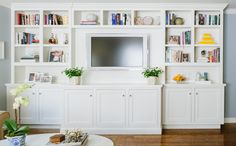 built in cabinets flat screen - Google Search