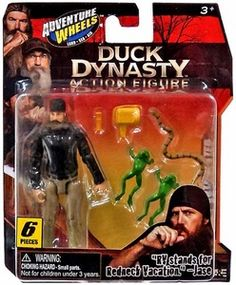Duck Dynasty 4 Inch Action Figure Jase
