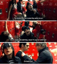I KNOW GEE IS SO AWESOME SASSY AND FRANK IS SO AWESOME AND SASSY AND ALL OF THEM ARE AWESOME AND SASSY BUT CAN WE TALK ABOUT HOT MIKEY IS IN THIS VIDEO?!