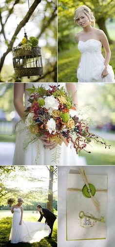 Great Falls Wedding Infused with Bohemian Elegance | Style Me Pretty