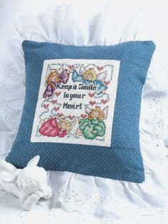 Cross-Stitch - Accessories - Decor - Keep a Smile - #FX00008
