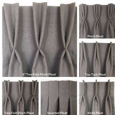 100% Linen Custom Lined Drapery Curtain Panel Lined