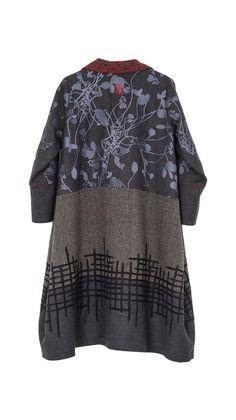 Coats : Coat Bombom Heart - cool idea to do with Marcy's pattern