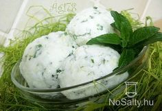 Ice Cream, Breakfast, Ethnic Recipes, Foods, Mint, No Churn Ice Cream, Morning Coffee, Food Food, Food Items