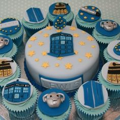 Awesome Doctor Who cupcakes!