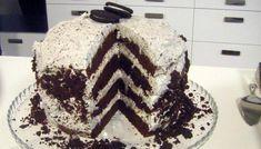 Σοκολατένια τούρτα γενεθλίων OREO Oreo 5, Birthday Cake, Baking, Desserts, Recipes, Food, Drinking, Cakes, Tailgate Desserts
