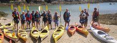 kayak à Belle-Ile-en-Mer avec le CPIE de Belle-Ile : la faune et la flore approchée par la mer ! http://www.monique-solidaire.fr/cpie-belle-ile.html