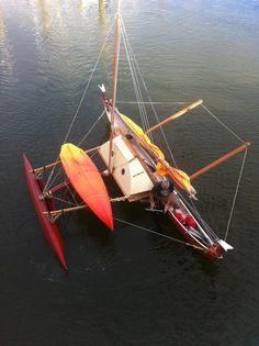 Outrigger Sailing Canoes