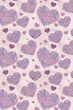 Scrapylicious ♥ : Pattern Hearts Wallpaper.
