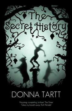 Haven't read this book but I often choose books by their cover....The Secret History by Donna Tartt