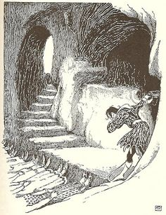FrankC Pape Illustrations Many more magical illustrations of Frank Cheyne Papé at http://vintagebookillustrations.com/frank-cheyne-pape/