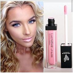 Discover Younique's professional-quality cosmetics, skin care, and fragrances for endless looks you'll love. Lucrative Lip Gloss, Perfect Pink, Younique, Best Makeup Products, Hair Makeup, Fragrance, Nail Polish, Lipstick, Make Up