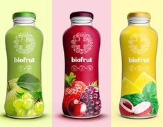Behance is the world's largest creative network for showcasing and discovering creative work Yogurt Packaging, Juice Packaging, Bakery Packaging, Beverage Packaging, Bottle Packaging, Packaging Design, Branding Design, Wine Bottle Design, Pharmacy Design