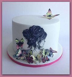 Ideas de Tortas de 15 con mariposas para tu fiesta de 15 años, encuentra aquí diseños y modelos de pasteles decorados con mariposas, tortas de mariposas ...