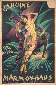 Josef Fenneker expressionist illustrator 1895 1956 ...