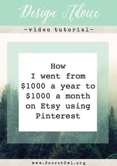 How to use Pinterest to market your Etsy store