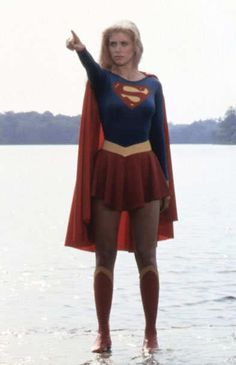 Helen Slater as Supergirl in Supergirl, 1984