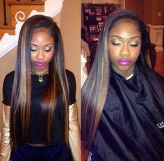 virgin human hair wigs/hair extensions/lace closure/clip in hair/skin weft. Indian Hairstyles, Weave Hairstyles, Straight Hairstyles, Dope Hairstyles, American Hairstyles, Protective Hairstyles, Love Hair, Gorgeous Hair, Lace Closure