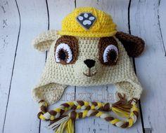 Crochet el sombrero de perro. Sombrero de la por KrazyHats1 en Etsy