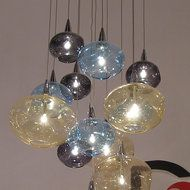 Blown Glass Chandeliers