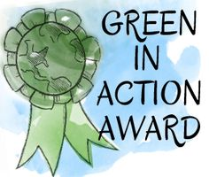 Win 250 dollars for your classroom by applying for a GEF Green in Action award by April 30. #greenweek #prizes #contest