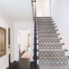 There's nothing quite like a David Hicks pattern from STARK. Design by Jessica McIntyre Interiors.