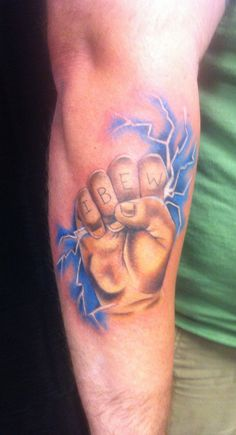 Ibew on pinterest lineman tat and great tattoos for Electrical tattoos ideas
