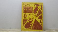 With a Wig with a Wag and other American Folk Tales, 1954, Jean Cothran, vintage kids book by RandomGoodsBookRoom on Etsy