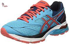 GT 1000 5, Chaussures de Running Homme, Bleu (Indigo Blue/Snow/Hot Orange), 39 EUAsics