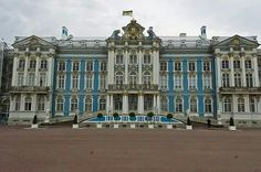 Catherine Palace in St Petersburg,Russia.A♥W
