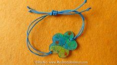 bracelet plastique fou et fil Noeud coulissant pour bracelet réglable