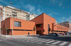 Centro de Salud en Ansoain. Pamplona. ASOARQ Arquitectos Asociados .En Conarquitectura N. 39