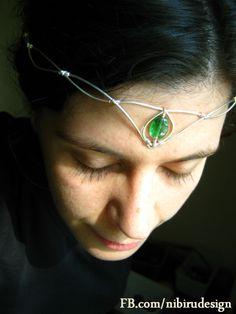 Elven wire tiara  https://www.facebook.com/nibirudesign