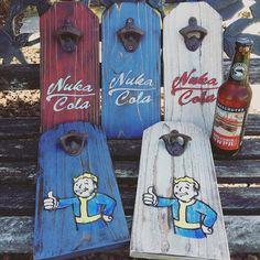 Fallout Bottle Openers | byTravis