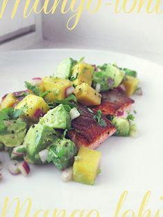 Syötävän hyvä: LOHTA JA MANGO-AVOKADO-SALSAA