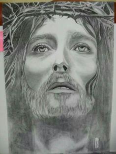 Cristo Matita e carboncino Cm 33x48