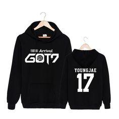 GOT7 Flight Log Arrival Youngjae 17 Album K-POP Fashion Cool Hoodie #GOT7 #FlightLog #Arrival #Youngjae #Album #KPOP #Fashion #Cool #Hoodie #KIDOLSTUFF