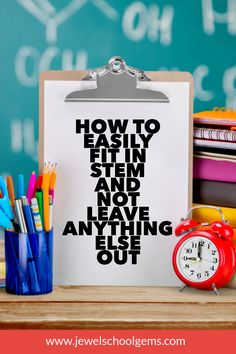 Try one or all of the ideas I am sharing with you, and with a little brainstorming, you will probably find many more ways to fit in STEM. Teacher Blogs, Teacher Resources, Elementary Science, Science Classroom, Elementary Teacher, Classroom Activities, Classroom Ideas, Kindergarten Stem, Brain Craft