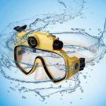 Diving Mask Glasses Underwater 720P HD Camera 2 in 1