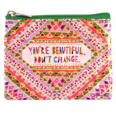 Blue Q - You're Beautiful Coin Purse ** Details can be found by clicking on the image.