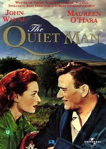"""The Quiet Man"""" (1952) was directed by John Ford and is based on a short story by Maurice Walsh, that was published in the Saturday Evening Post in 1933. The film stars John Wayne, Maureen O'Hara, Barry Fitzgerald and Victor McLaglen. It's the story of ex-prizefighter Sean Thornton (John Wayne), an Irish-born American, who returns to the village of Innisfree to buy back the Thornton family cottage. He meets the beautiful Mary Kate Dannaher (Maureen O'Hara) & the two fall in love at first…"""