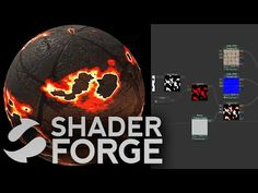 Shader Forge - Gradients (Part 3, Color Ramps & Dissolve)