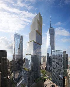 2 World Trade Center Images courtesy of Bjarke Ingels Architects.