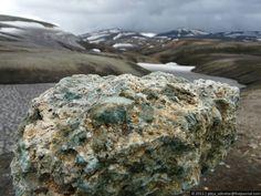 Исландия, день 3. Ландманналёйгар (Landmannaleugar) - Девочка-улитка.
