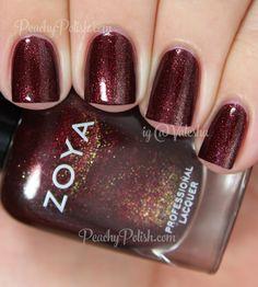 Zoya India   Fall 2014 Ignite Collection   Peachy Polish