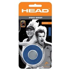 Head Pro Grip OverGrip 3 Pack by HEAD. $5.99. The Pro Grip has an ultra thin, soft, sanded surface with thousands of micropores. Provides optimal perspiration absorption for an extra dry and comfortable feel.Benefits:Extra dry and comfortable feelOptimal perspiration absorption