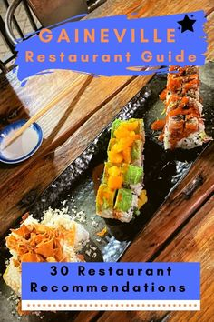 Find out where to eat in Gainesville with this restaurant guide! This includes all the best Gainesville restaurants for any cuisine or budget #florida #gainesville #foodie Florida Food, Florida Travel, Central Florida, The Flying Biscuit, Lunch Places, Love Cafe, Gainesville Florida, Delicious Restaurant, Restaurant Guide