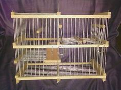 MultiCatch Trap Cage for Birds // See at ower video