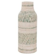 "Earthenware Vase - Green (16"") - Threshold™"